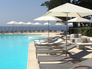 Parasols hôtel de luxe