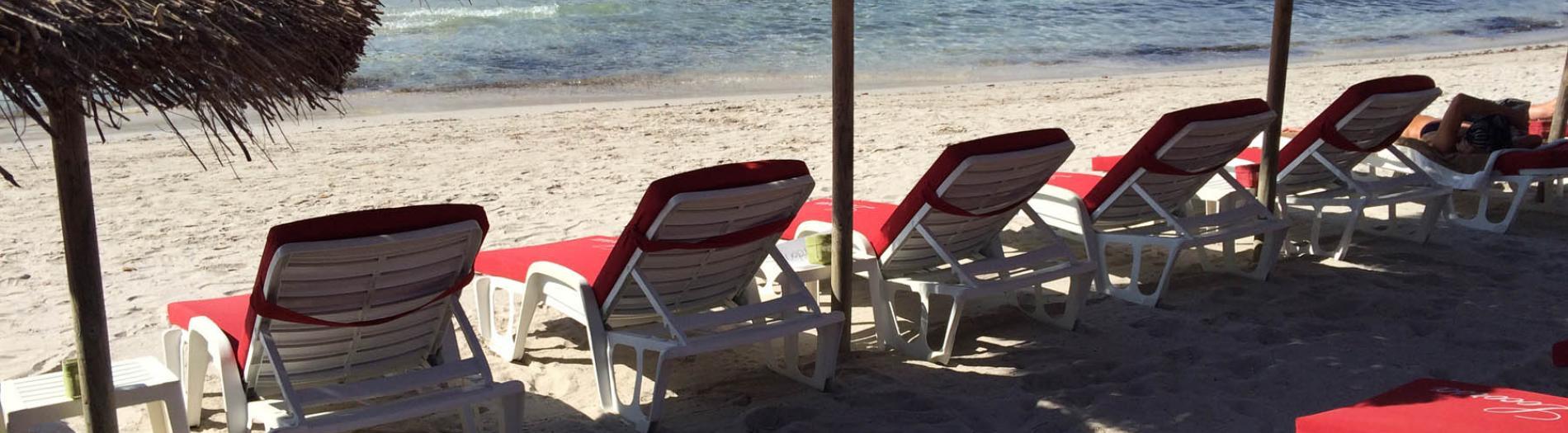 Les Matelas de la plage LOCORSA - Santa Giulia - Corse du sud