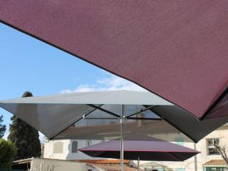fabricant parasol professionnel en toile micro-perforée