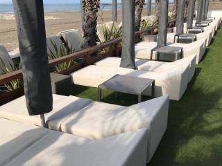 Mattresses for beach clubs