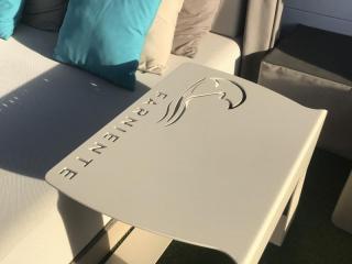 Table basse personnalisée - Mobilier outdoor Mousses Etoiles