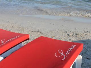 matelas de plage avec logo