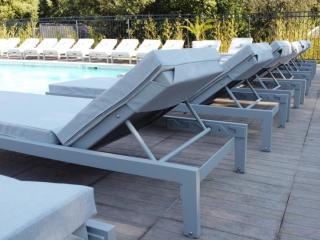 Mattress for sunbeds and sun loungers