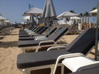 Private beach in Pampelonne near Saint Tropez