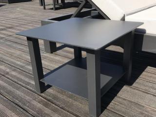 Table basse double plateaux - Fabricant Mousses Etoiles Mobilier outdoor