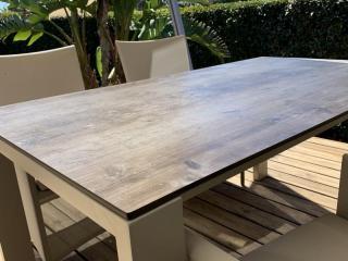 Table repas outdoor sur-mesure - Mousses Etoiles