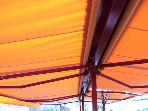 abris de terrasse toit pour terrasse double pente. Black Bedroom Furniture Sets. Home Design Ideas