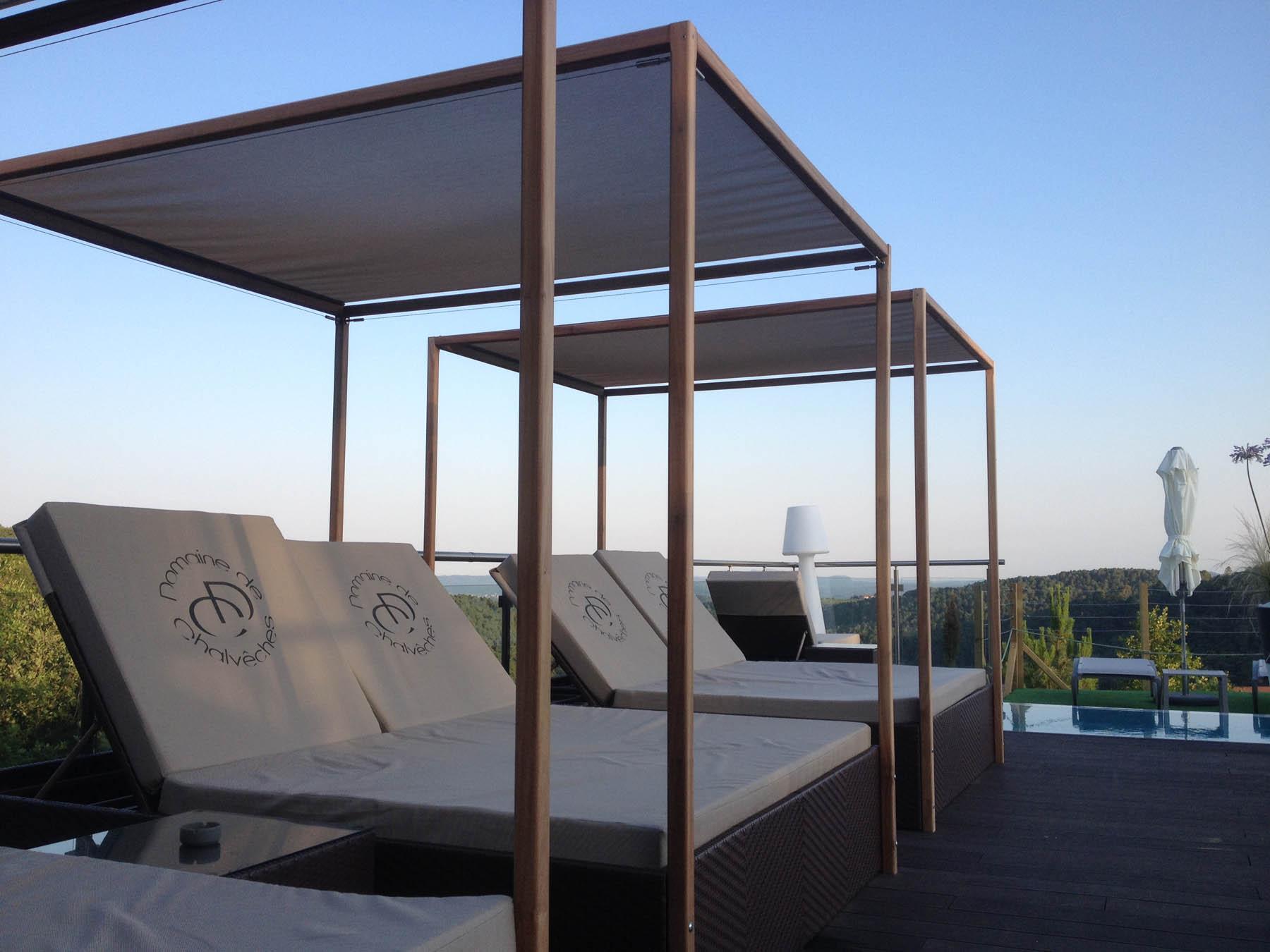 Bois Flotté Pour Pergola beds & bains de soleil en bois flotté ~~ bains de soleil et beds