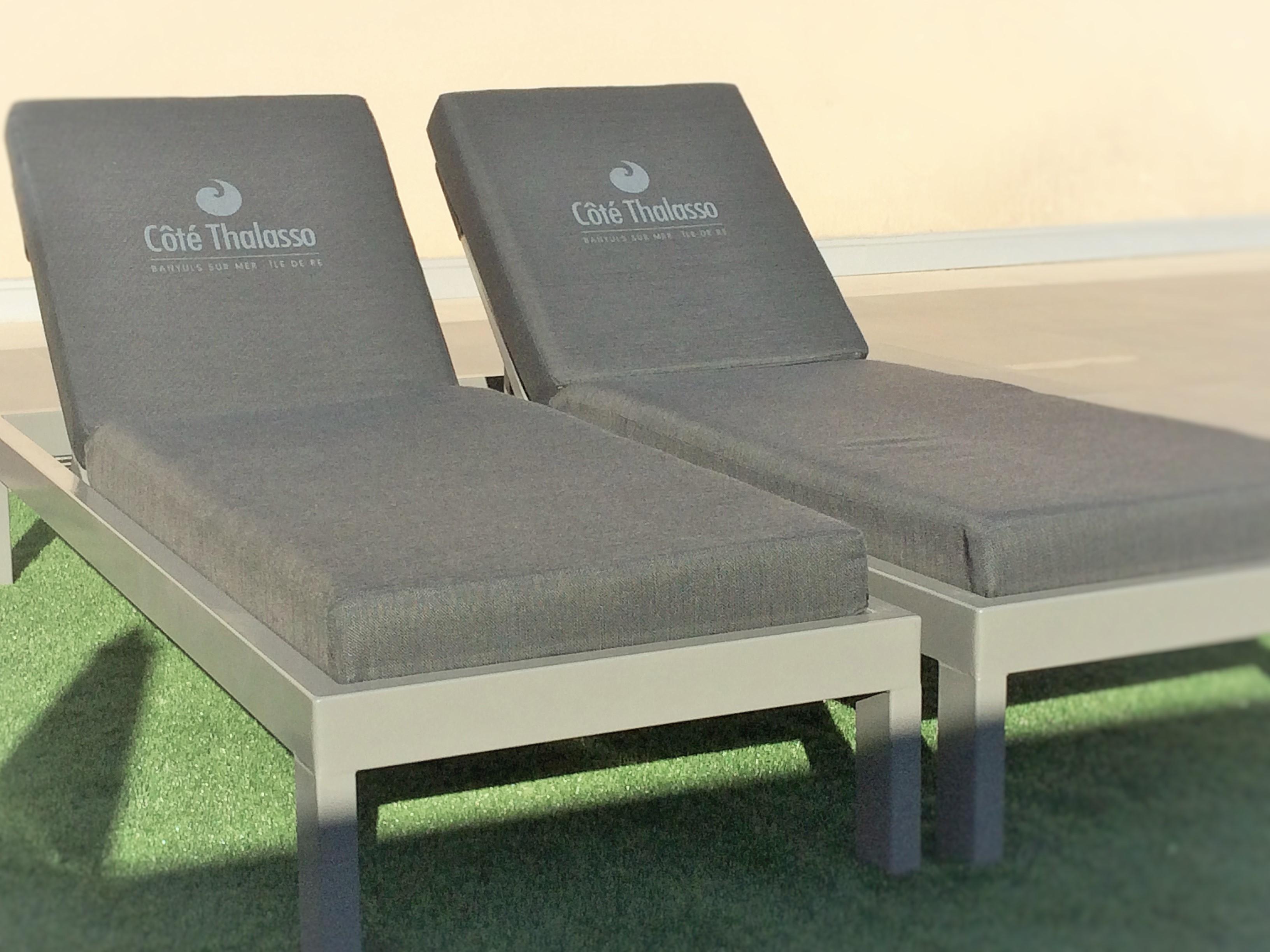 matelas d 39 ext rieur imperm able vente matelas pour bains de soleil sur mesure