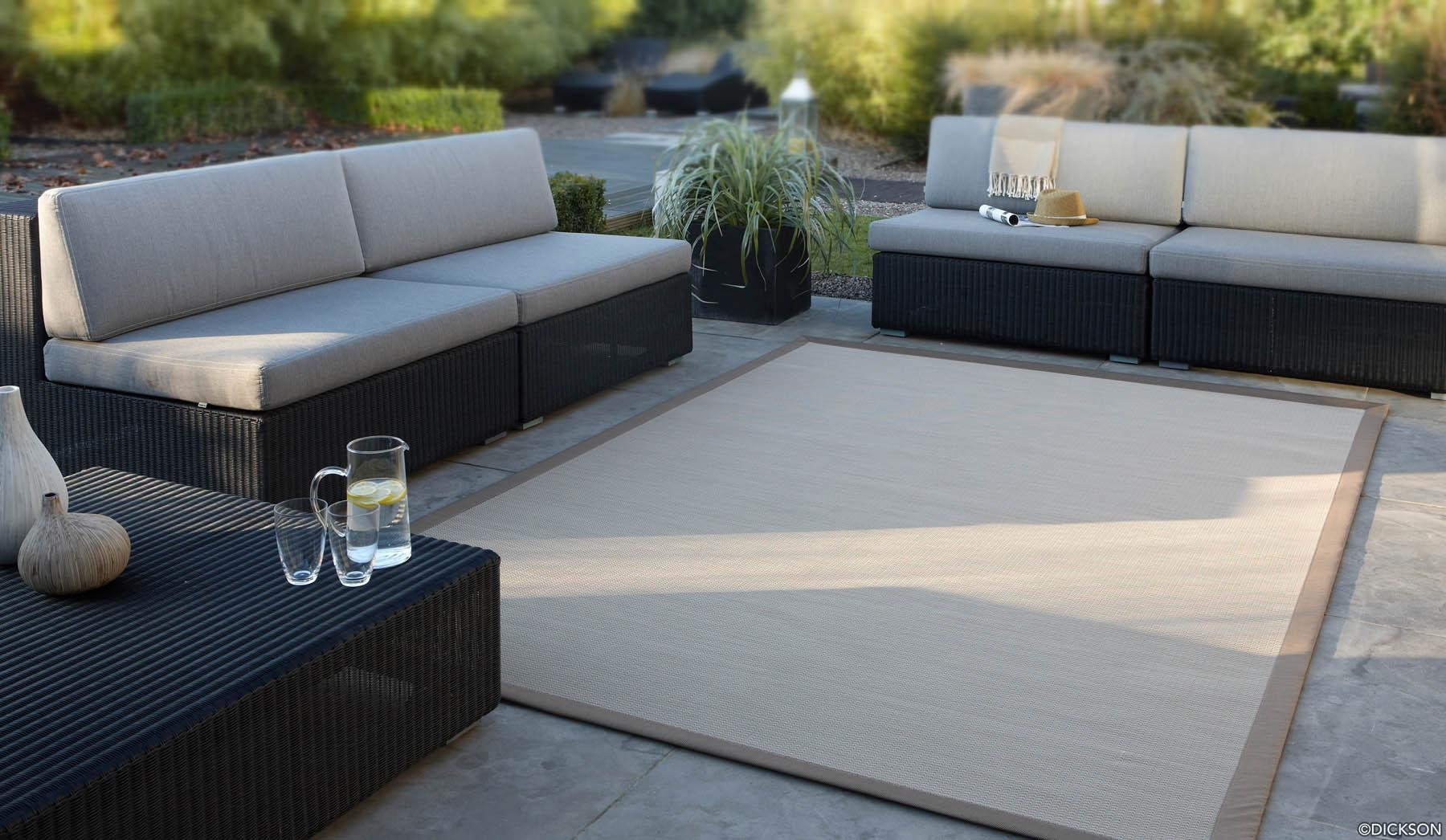 un espace dtente sur la terrasse - Meuble Terrasse