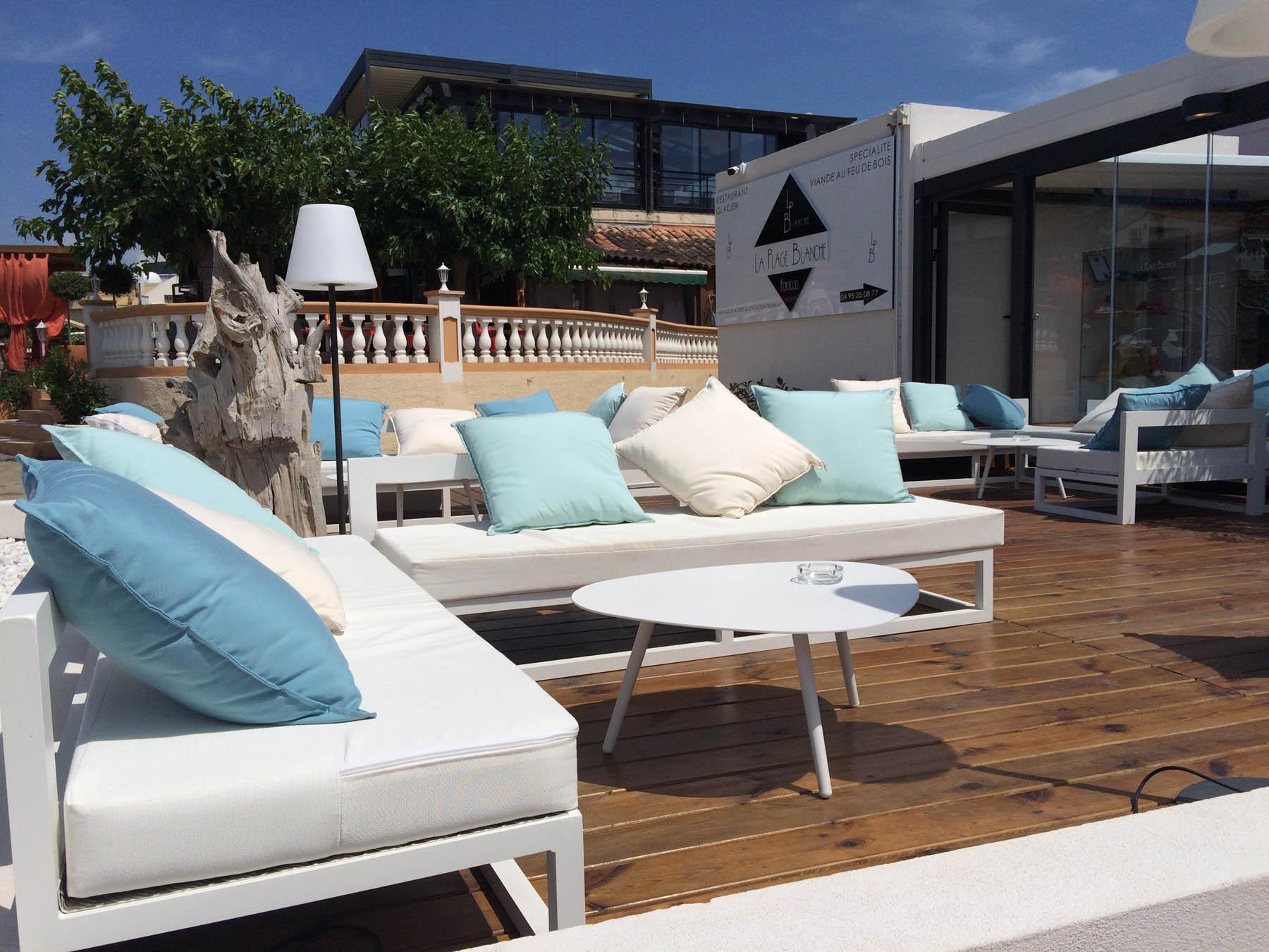 Grand Coussin Pour Exterieur mobilier de terrasse / transats personnalisés ~~ mobilier