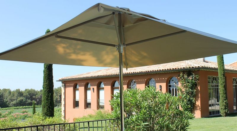 Excellent Charmant Parasol Pour Terrasse Parasol With Grand Parasol Terrasse