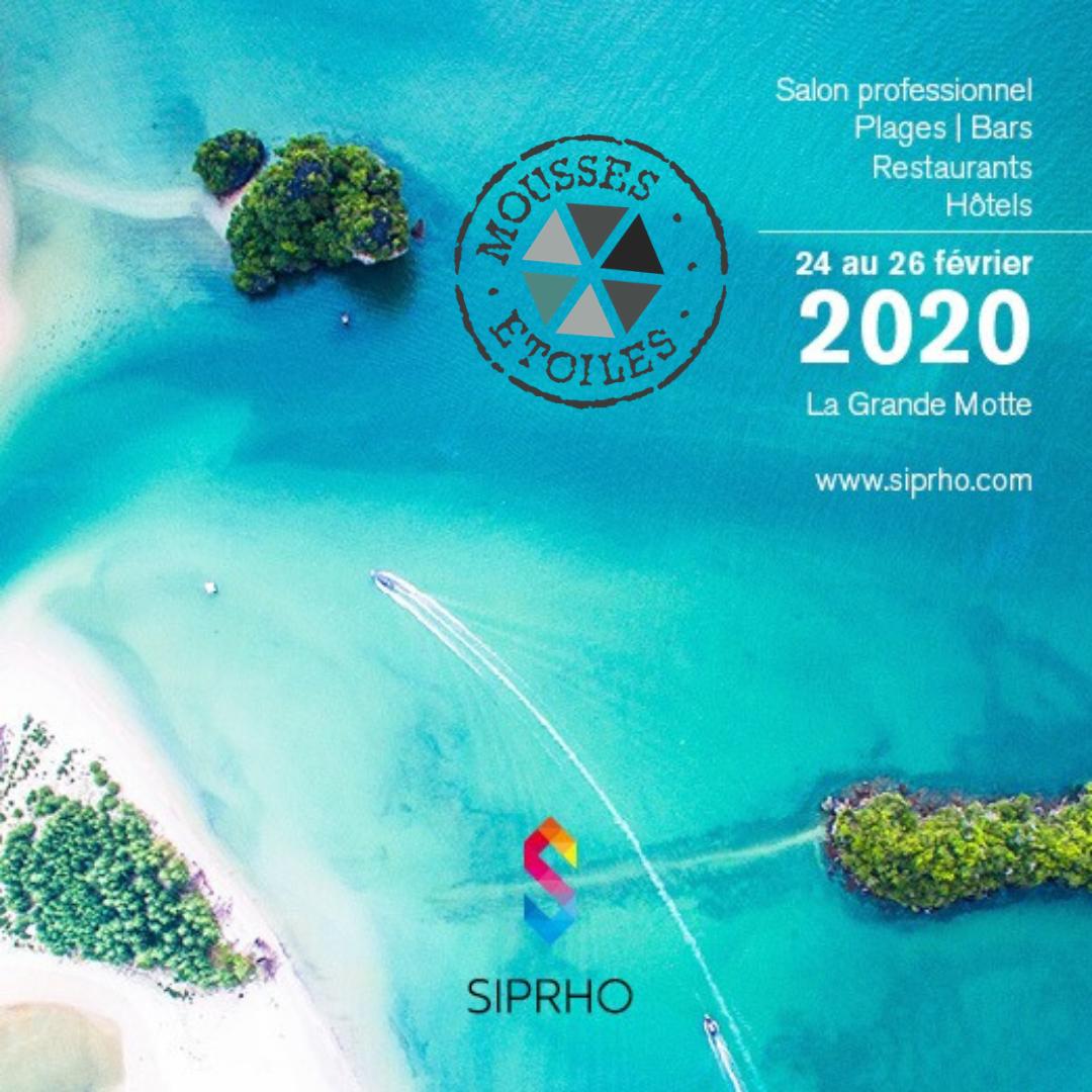 SIPRHO MOUSSES ETOILES 2020 - Du 24 au 26 février 2020