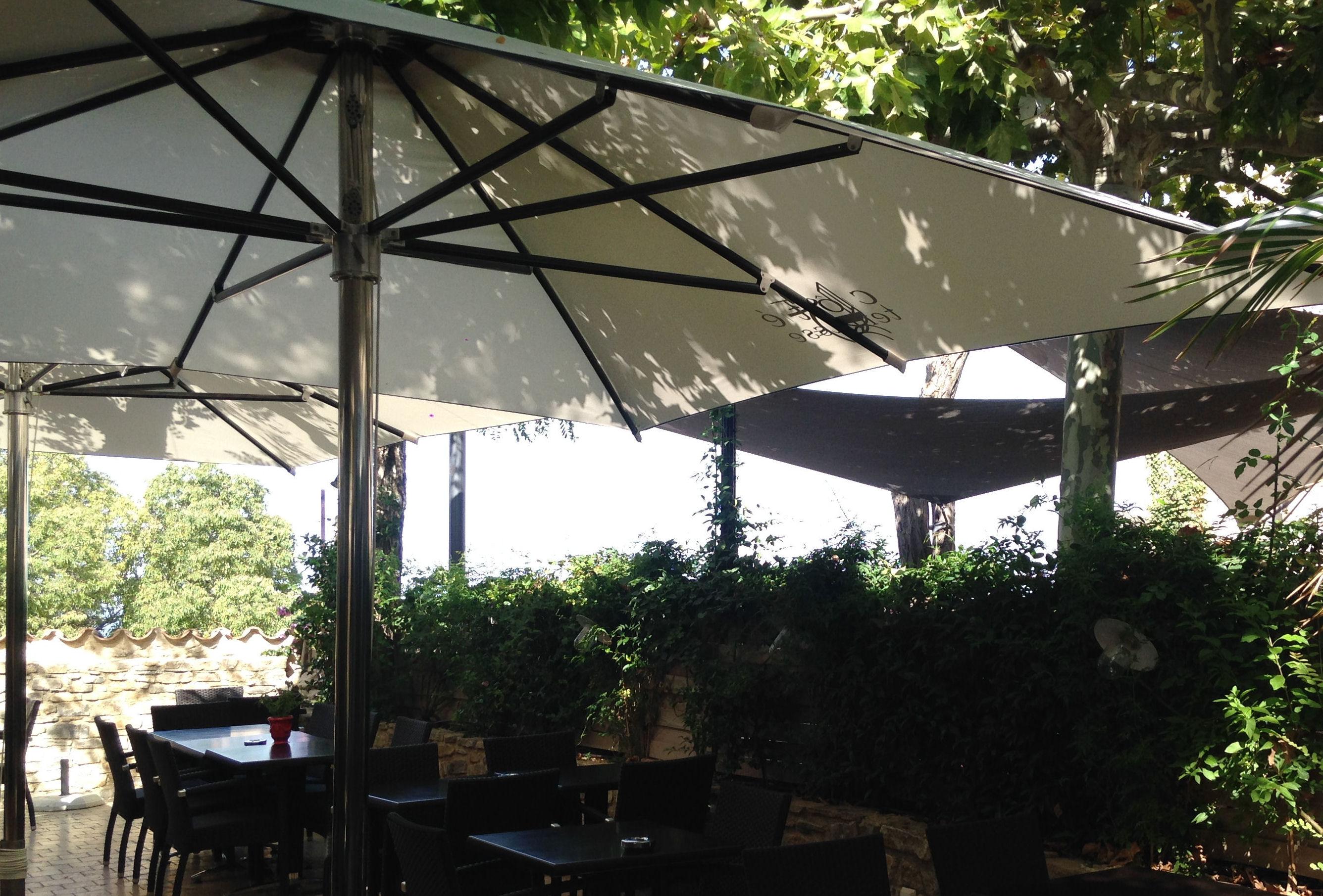 Parasol Mousses Etoiles avec une excellente tenue au vent