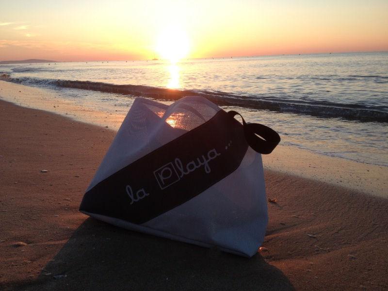 Beach bag recycling canvas umbrellas - Star Foam
