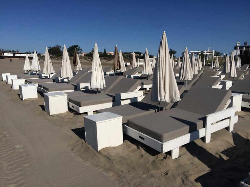 Matelas plage privée - Outdoor matresses for private beach